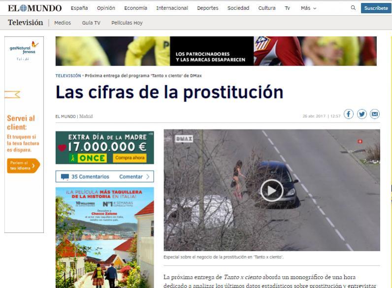 mercado de prostitutas prostitución